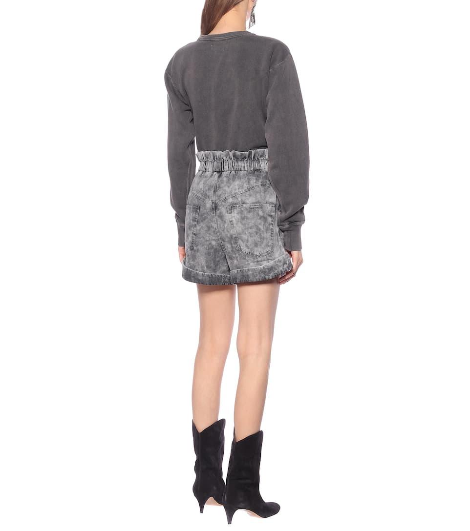 Isabel Marant, Étoile - Cinyab high-rise denim shorts