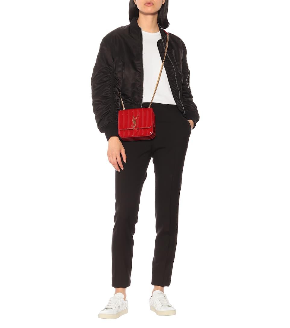 Saint Laurent SL/06 Court Classic leather sneakers Outlet Bequem Freies Verschiffen 2018 Neue Günstig Kaufen Zuverlässig Modestil 561Baen