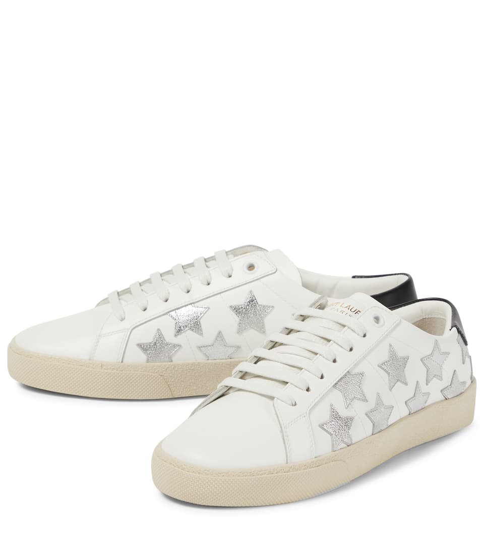 4f77e33a994 Sl/06 Court Classic Leather Sneakers - Saint Laurent | mytheresa