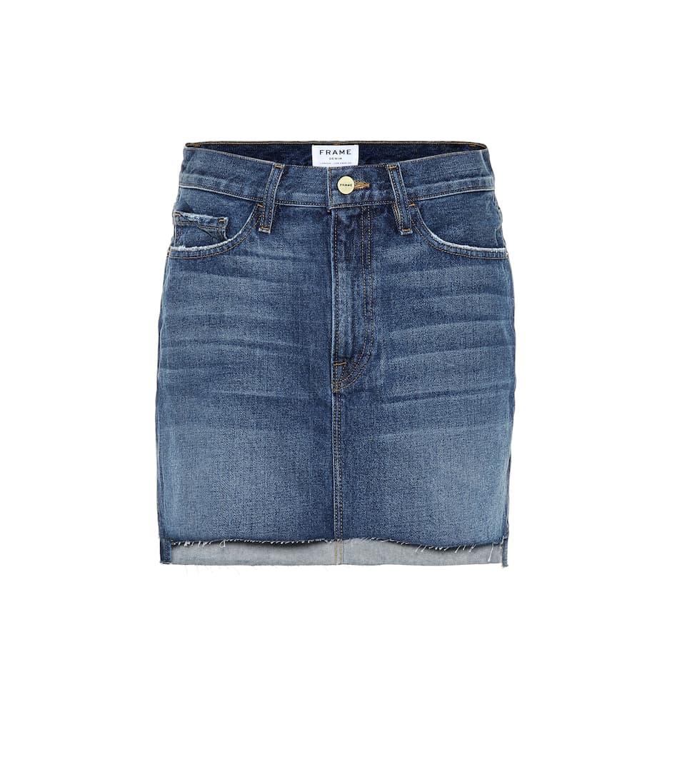0b1497ec1 Minifalda Le Mini de jeans
