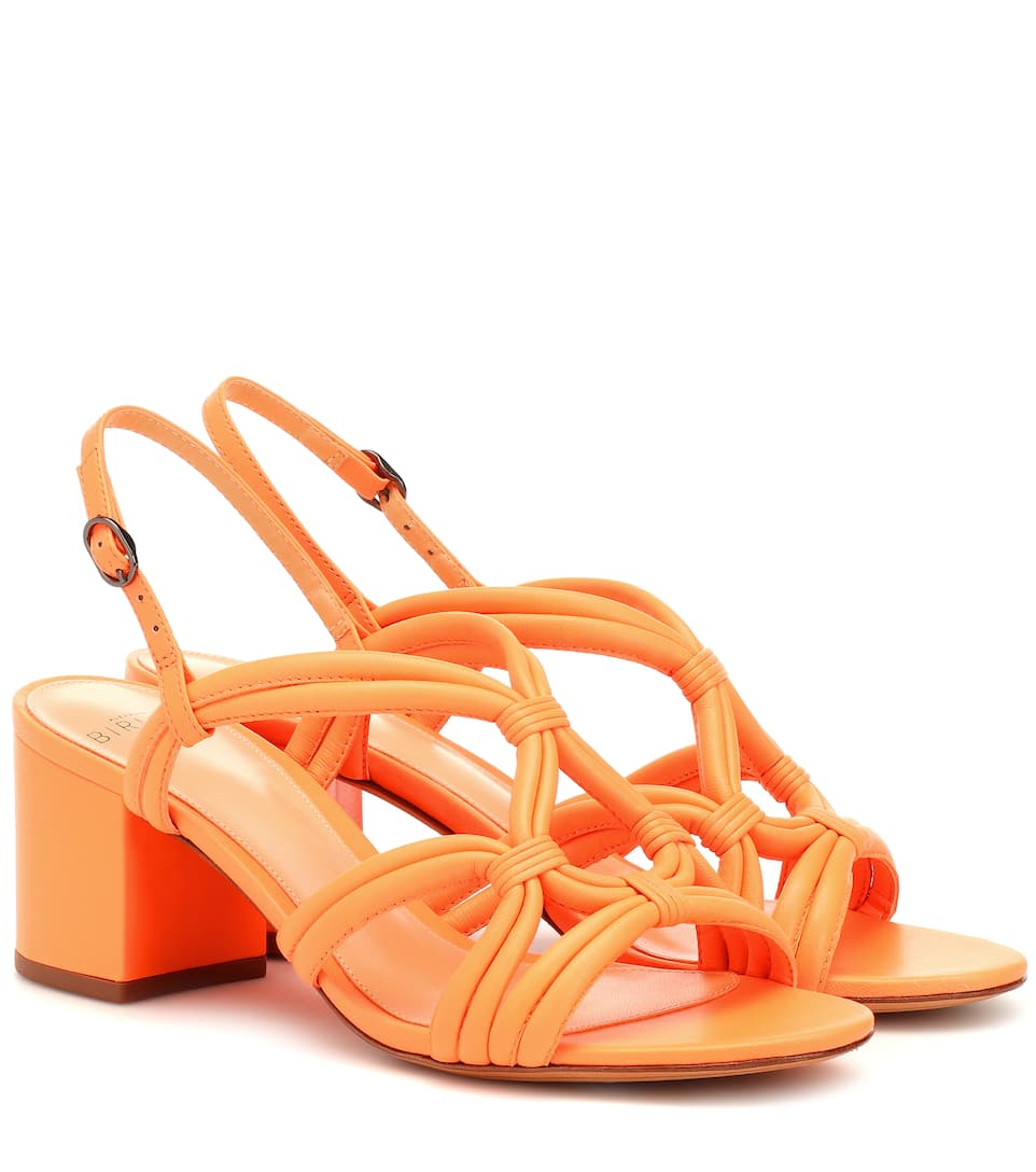 c4b5fd5bae Alexandre Birman - Giovanna 80 leather sandals | Mytheresa