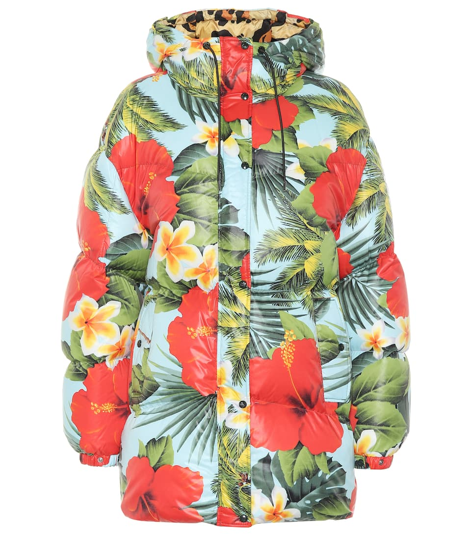 0 MONCLER RICHARD QUINN Mary floral puffer jacket