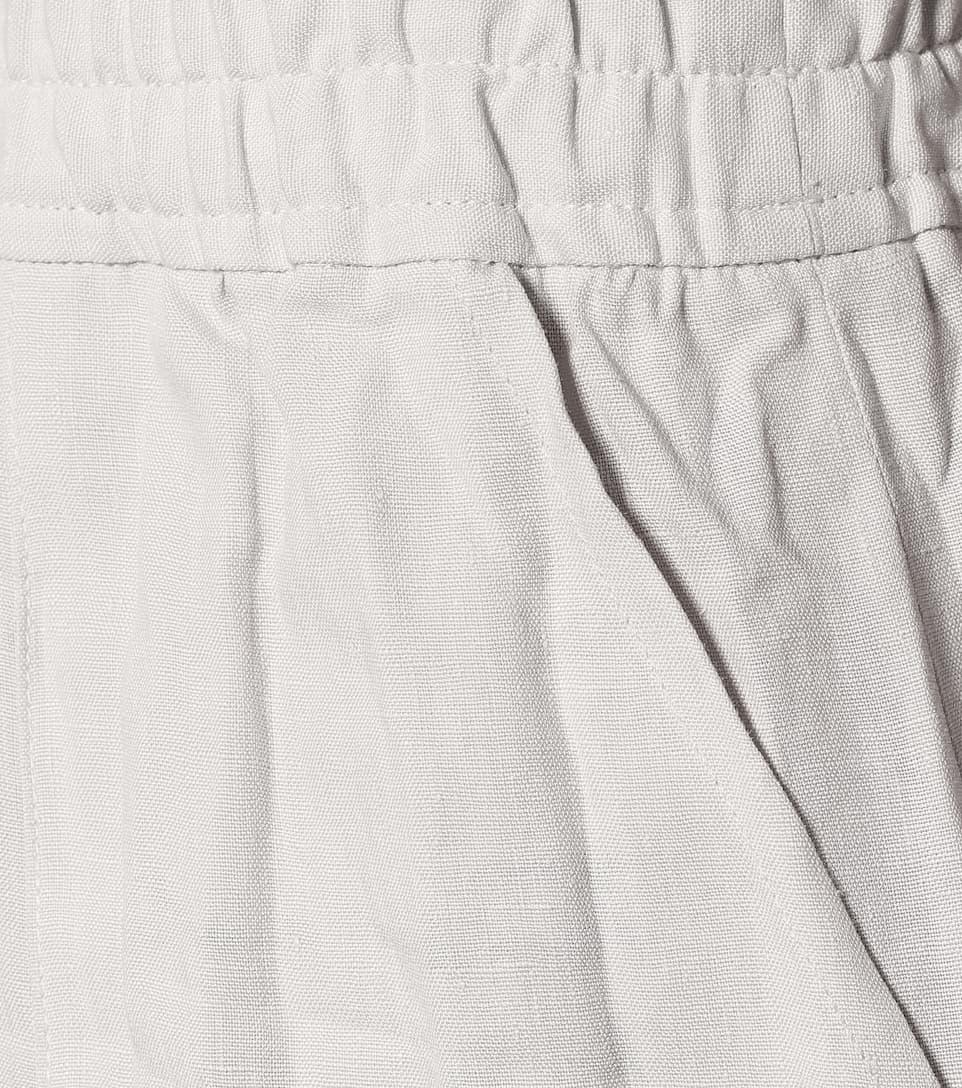 Acne Studios - High-rise wide-leg linen pants