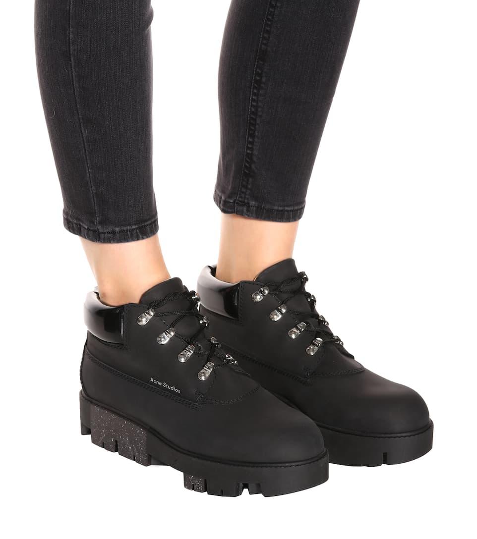 Acne Studios Ankle Boots Tinne aus Leder