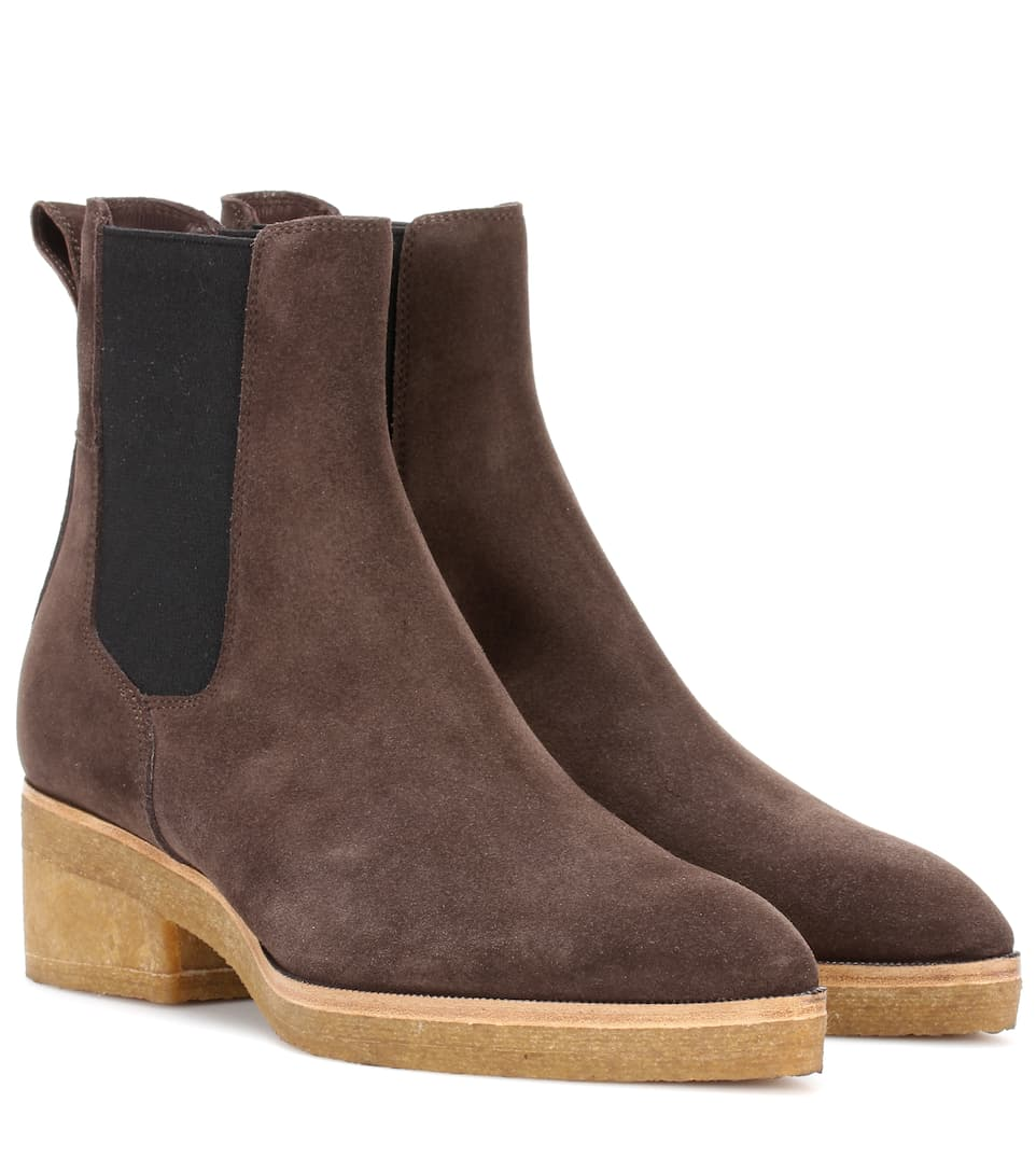 765f661d13 Suede Ankle Boots