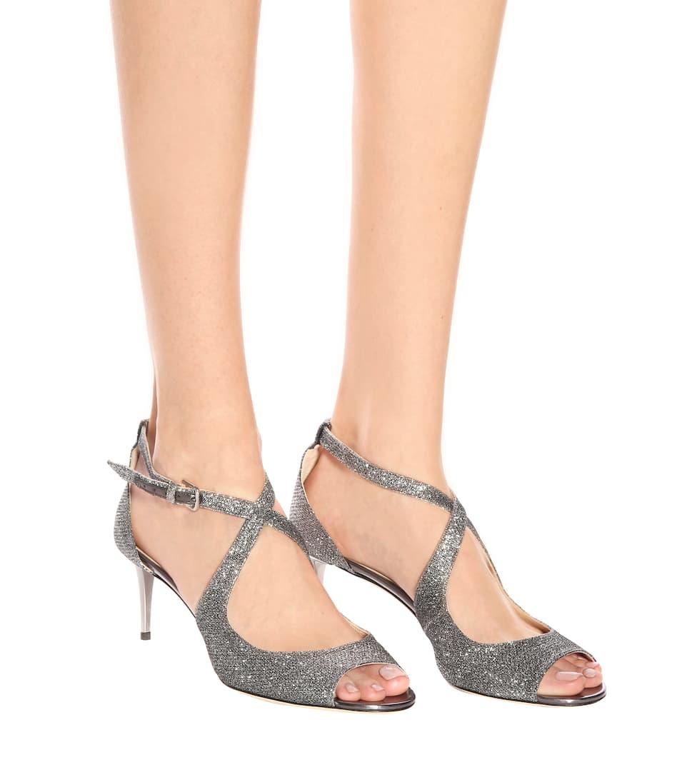 Jimmy Choo Sandaletten Emily 65 mit Glitter