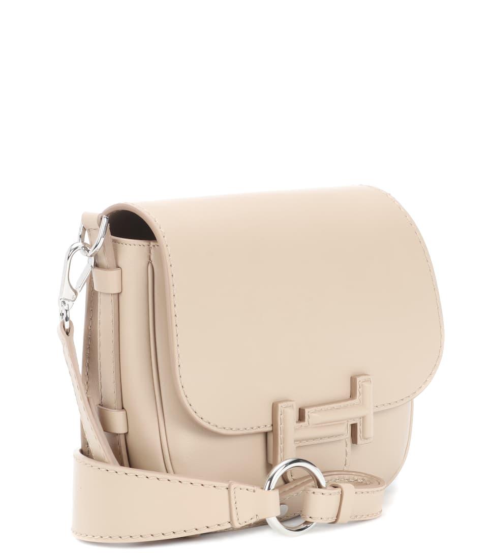 Tod's Schultertasche T Mini aus Leder