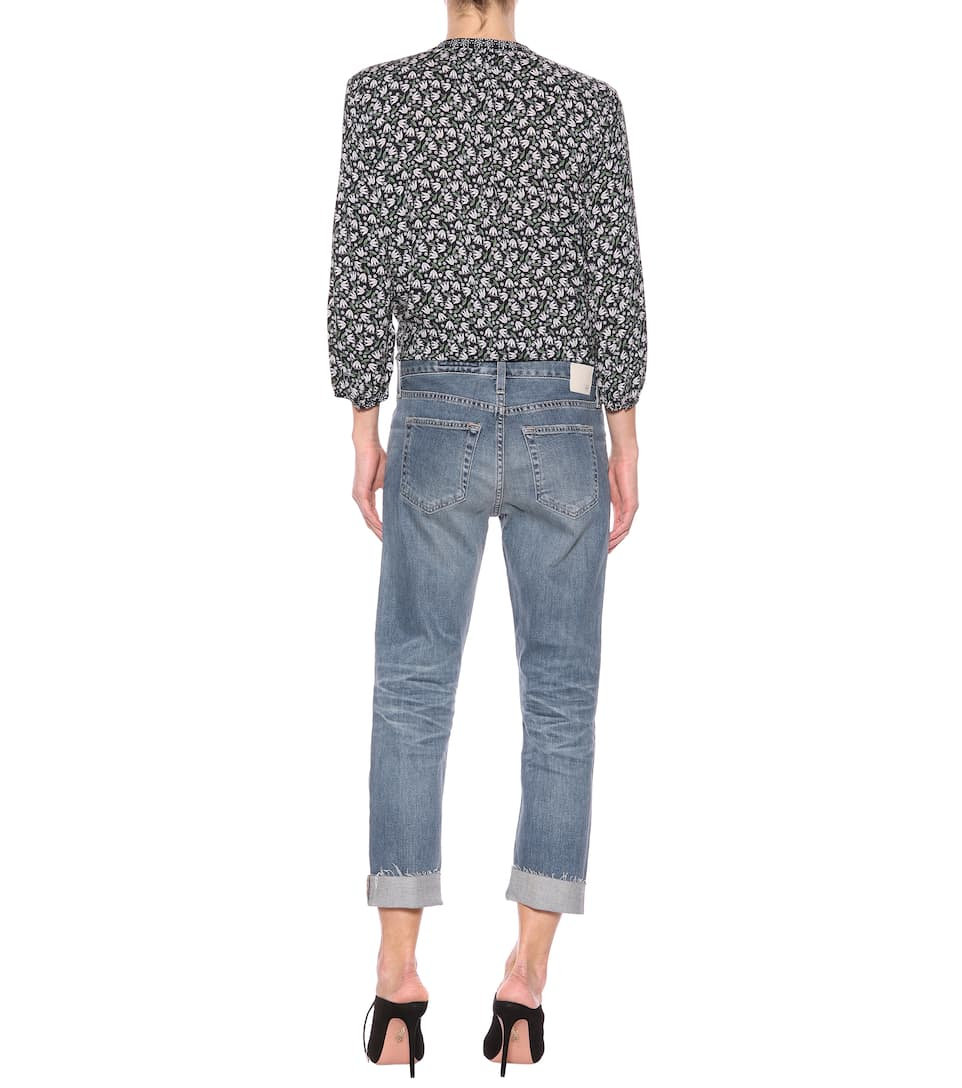 Ag Jeans Cropped Jeans The Ex-boyfriend