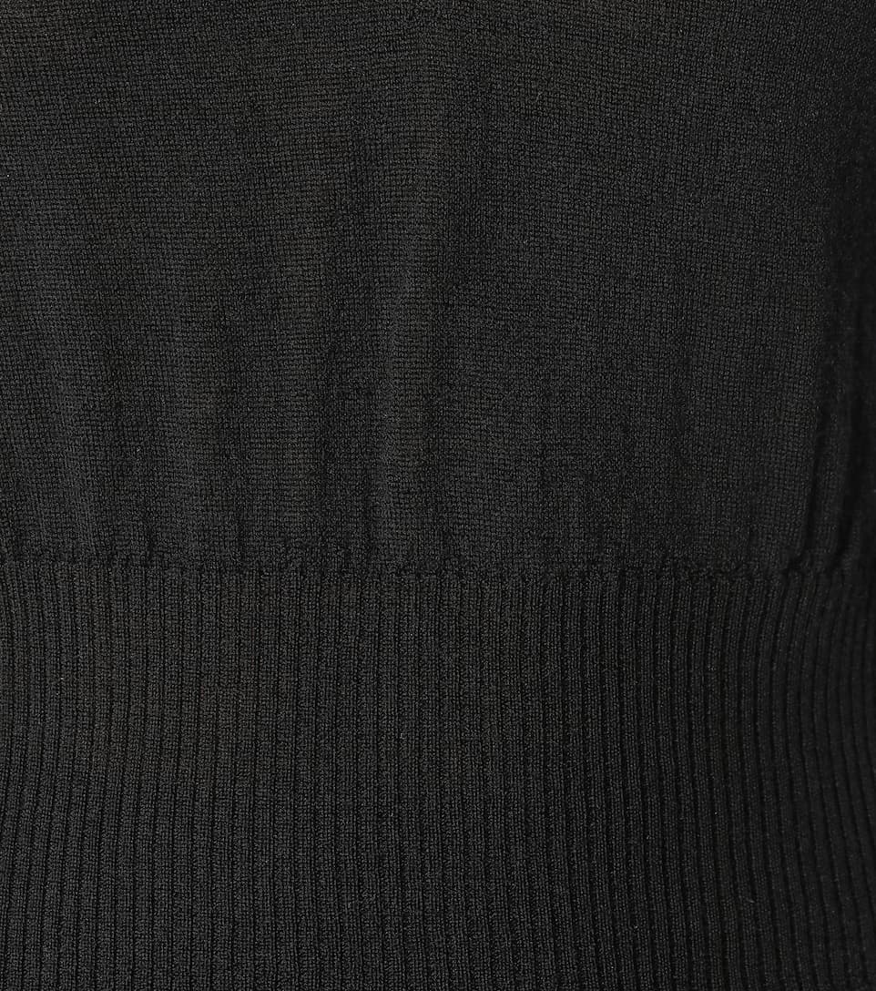 Rick Owens Cropped-Pullover aus Wolle