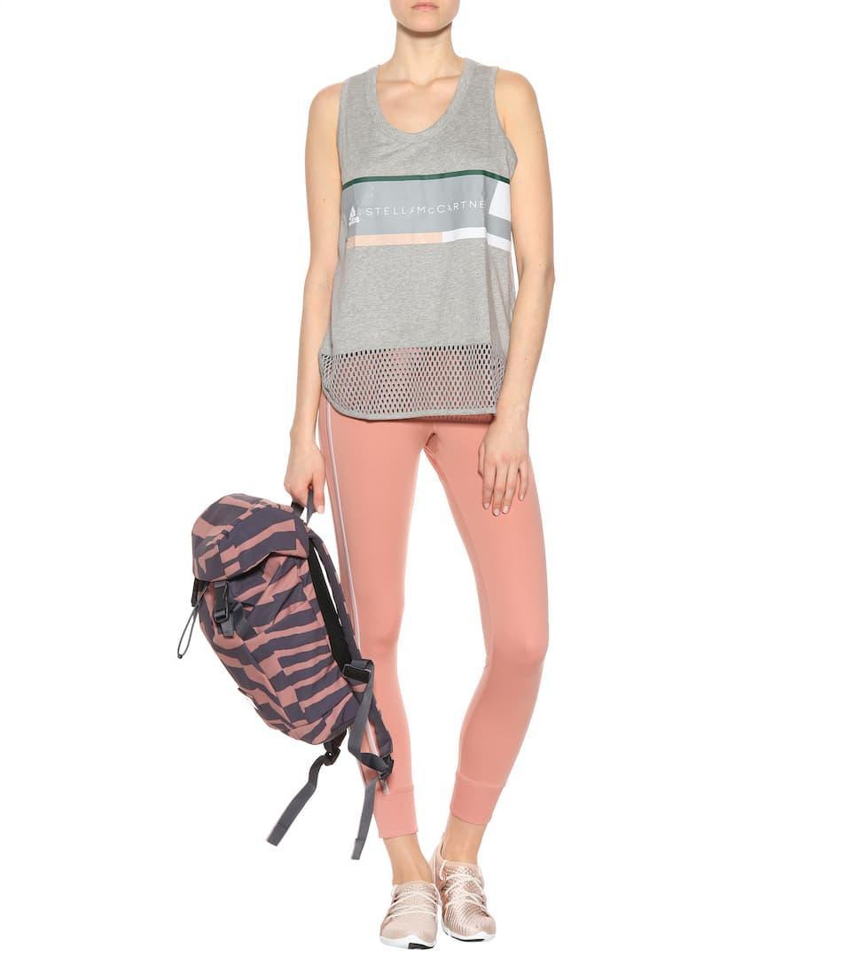Adidas by Stella McCartney Bedrucktes Tanktop aus Baumwolle