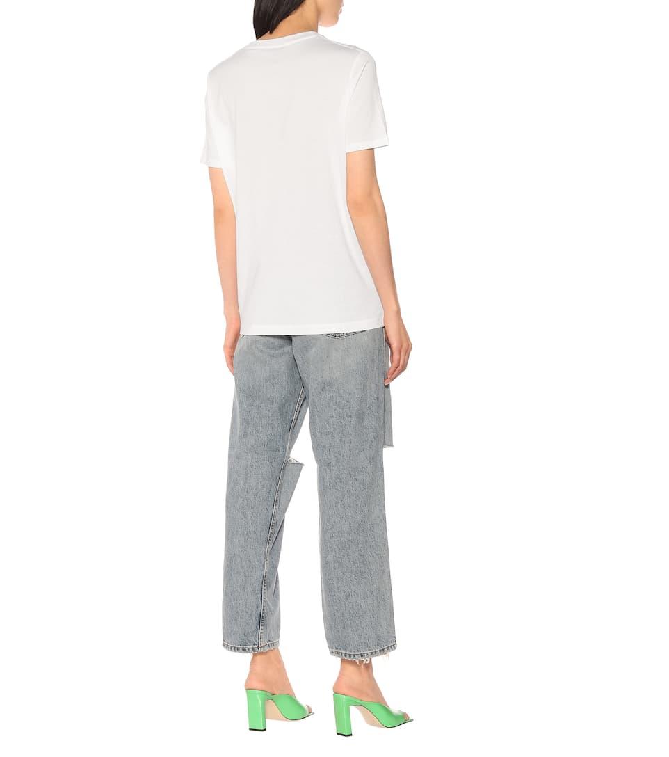 Face Cotton-Jersey T-Shirt | Acne Studios - Mytheresa
