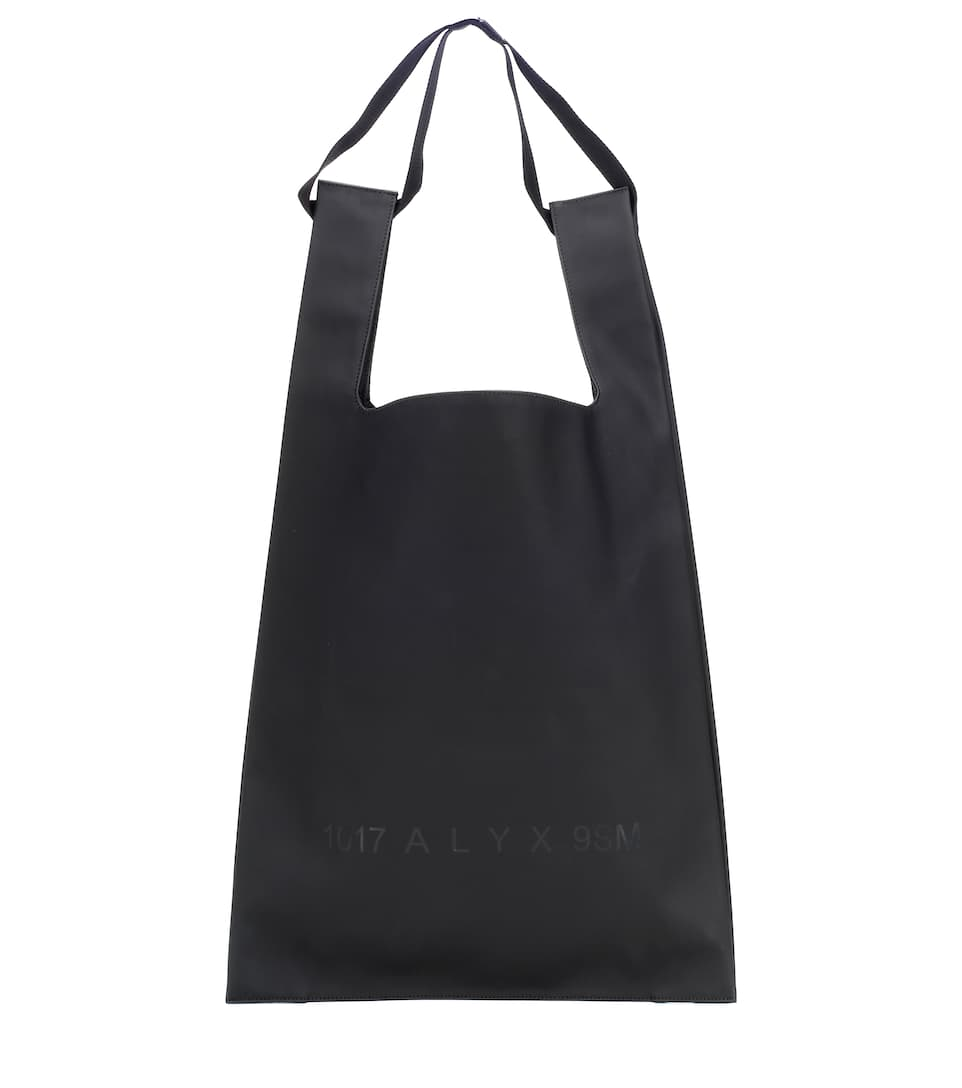 Shopping rubberized tote
