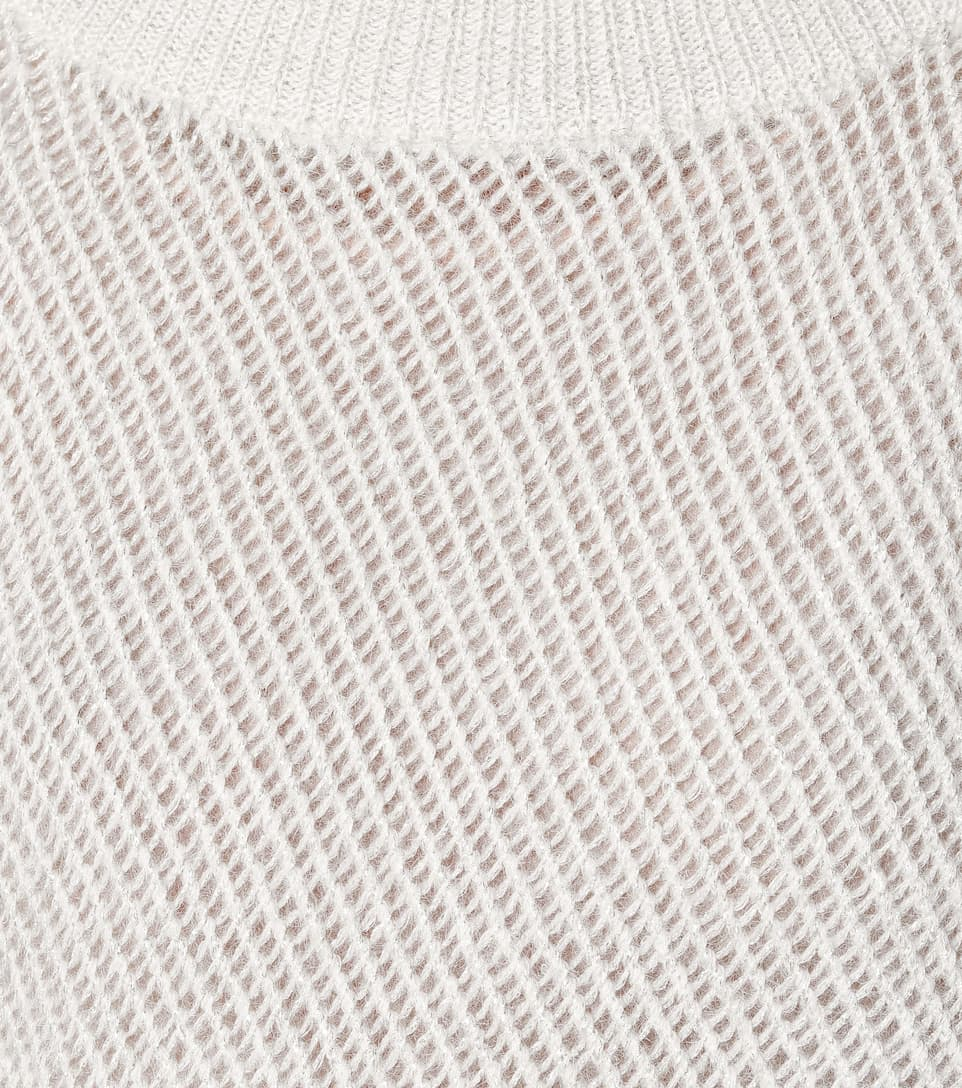 Brunello Cucinelli - Mohair and wool-blend sweater