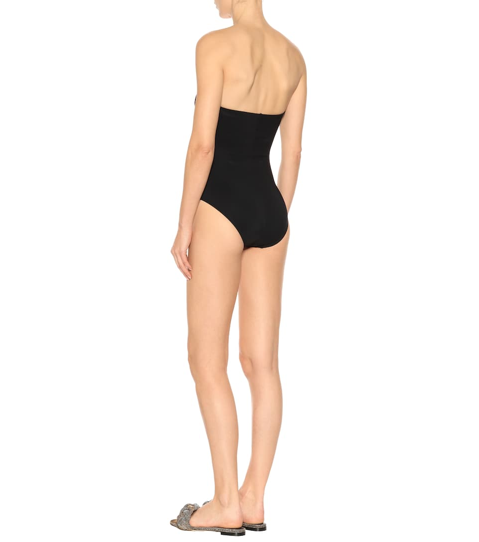 Karla Colletto Bandeau-Bikinioberteil