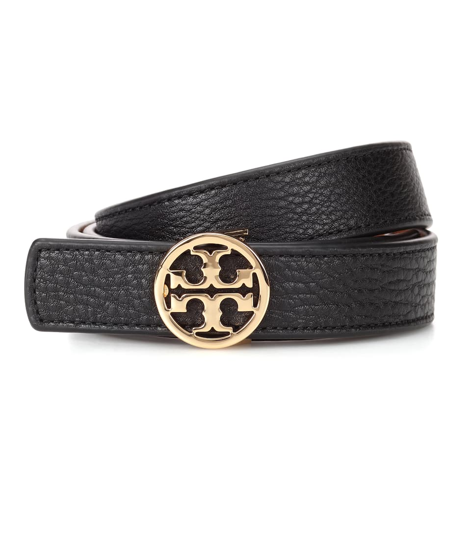 cf94113944c0 Reversible Leather Logo Belt - Tory Burch