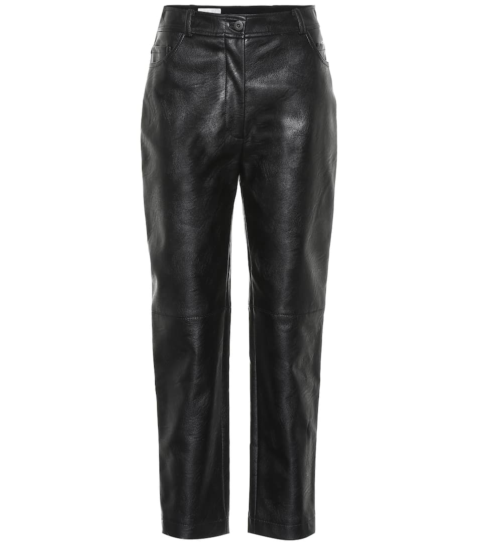 Pantaloni In Pelle by Stella Mc Cartney
