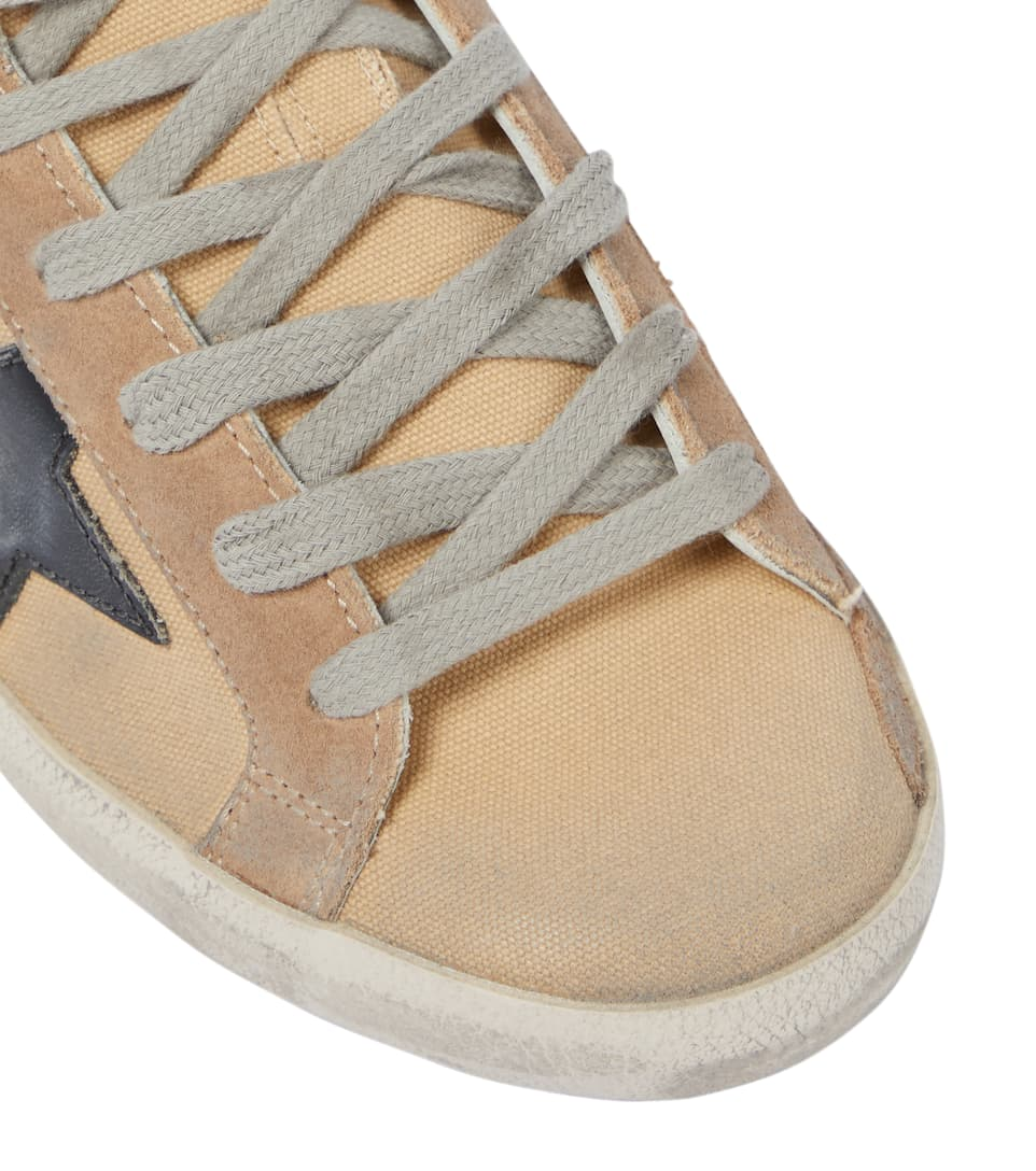 Sneakers Superstar In Canvas E Suede