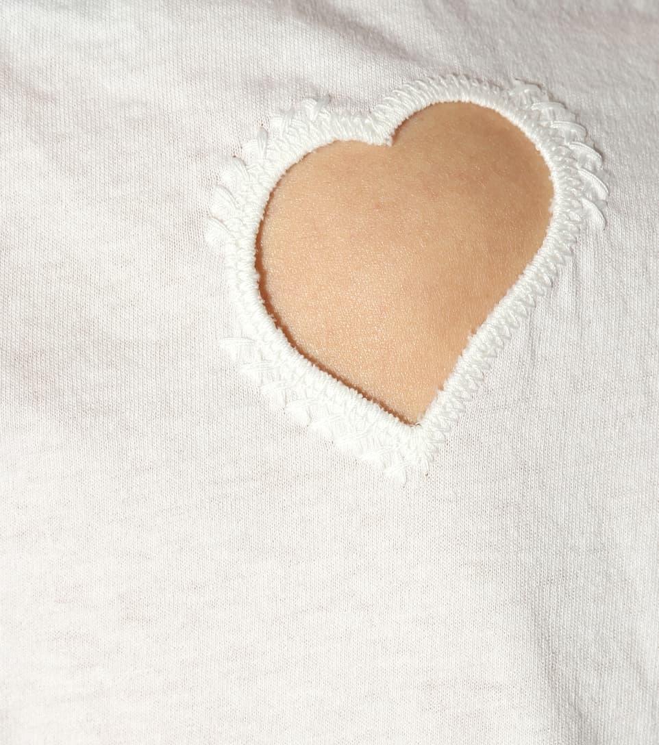 Preiswerte Qualität Saint Laurent T-Shirt aus Baumwolle Preiswerte Art Und Stil m7XOk
