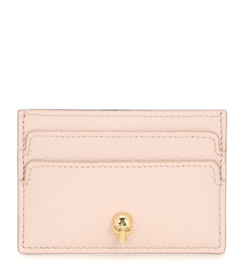 Leather Card Holder by Alexander Mc Queen