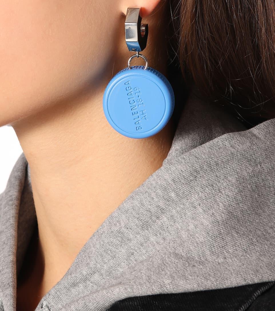 8e323748ba0e3 Bottle Cap Earrings - Balenciaga   mytheresa