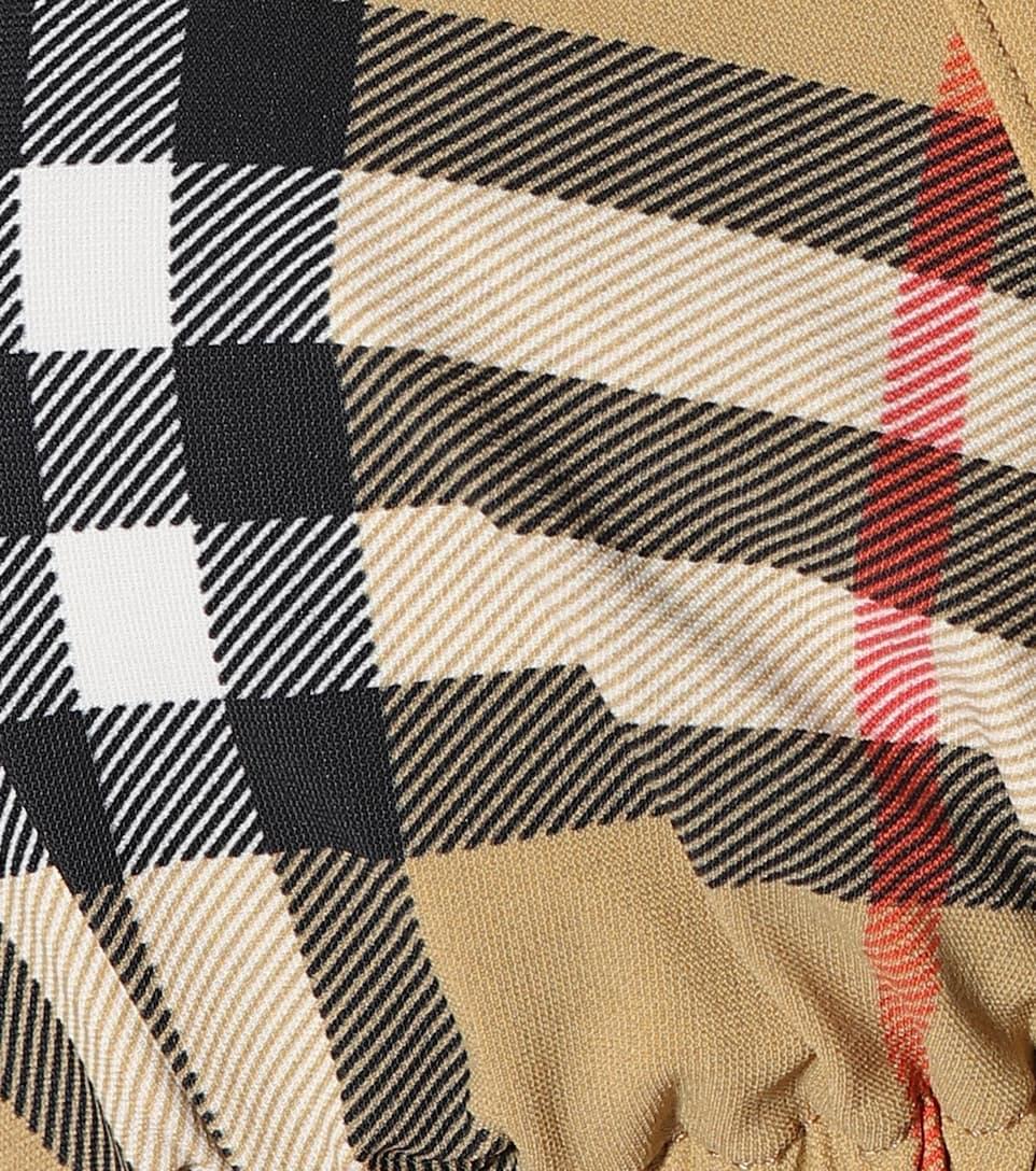 7eb182b1ca854 Vintage Check Triangle Bikini - Burberry