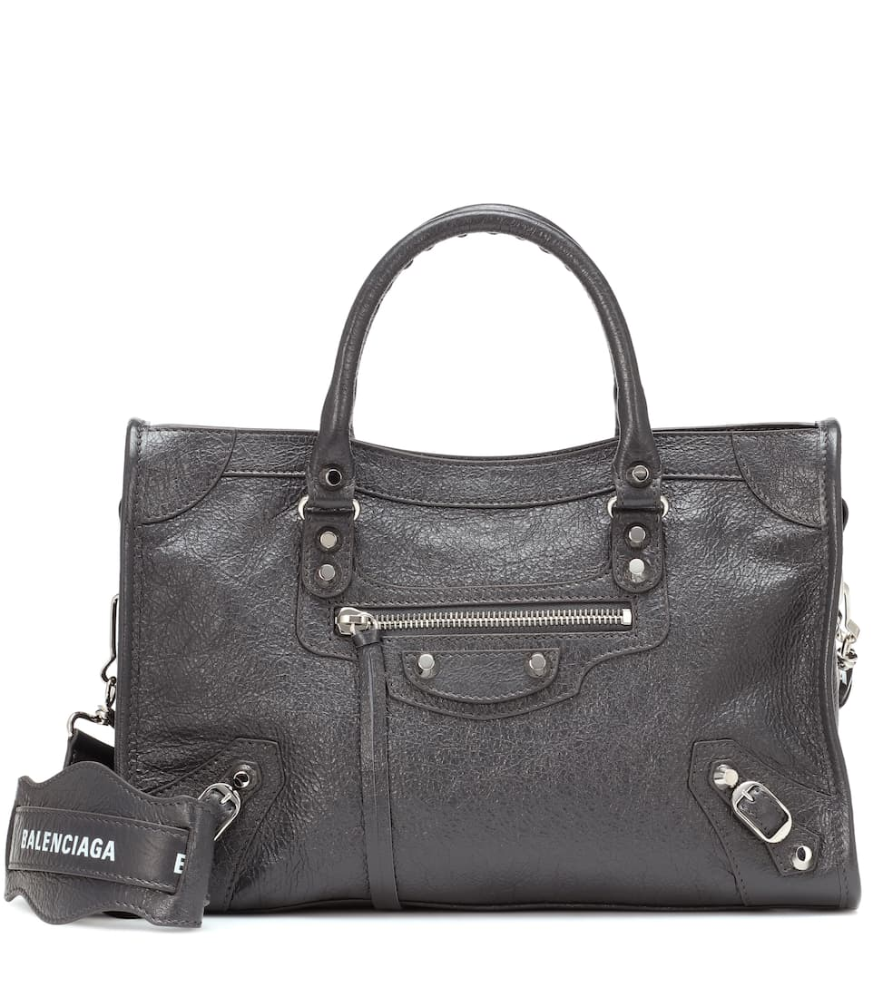 36998e16986 Classic City S Leather Tote - Balenciaga | mytheresa