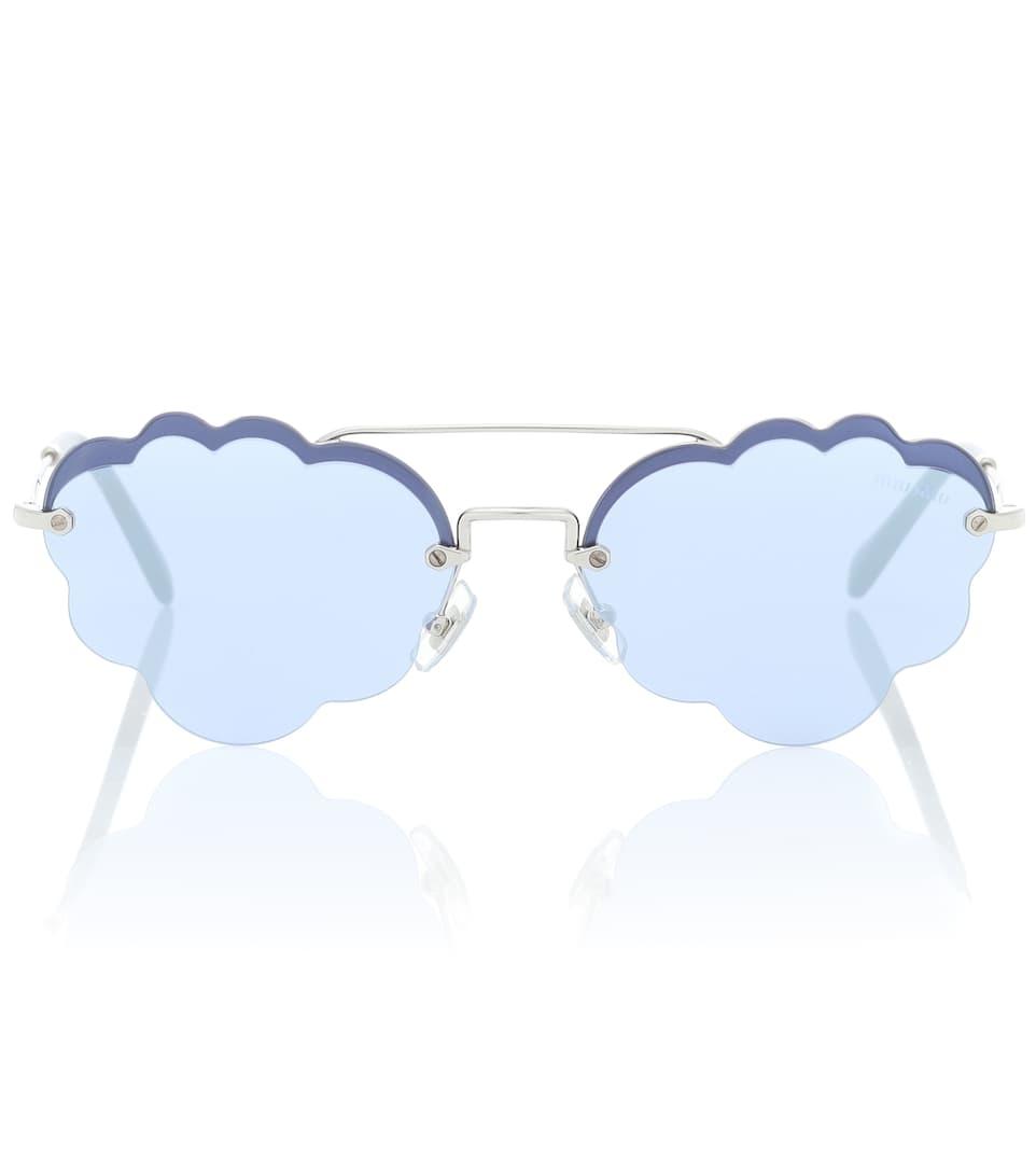 9a9684a266db Cloud Sunglasses - Miu Miu