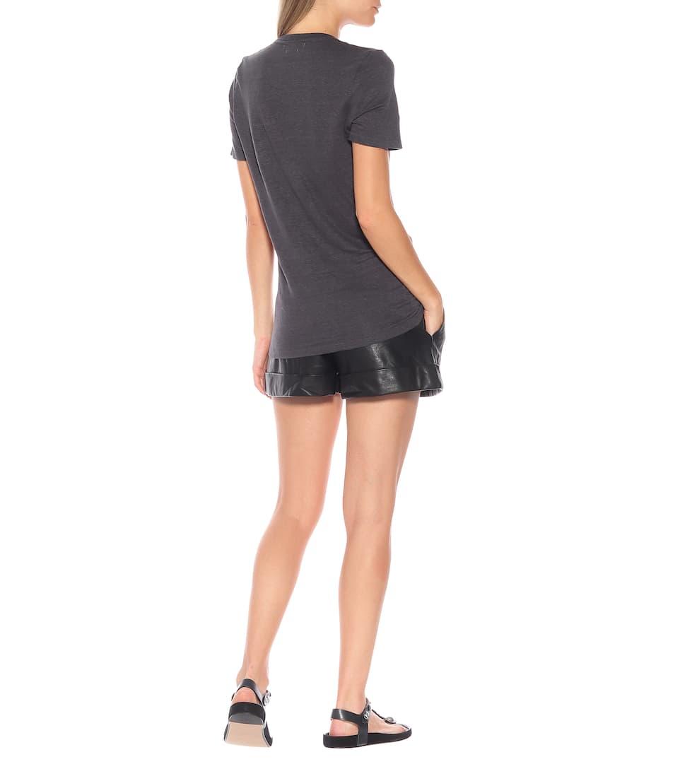 Isabel Marant, Étoile T-Shirt Kranger aus Leinen