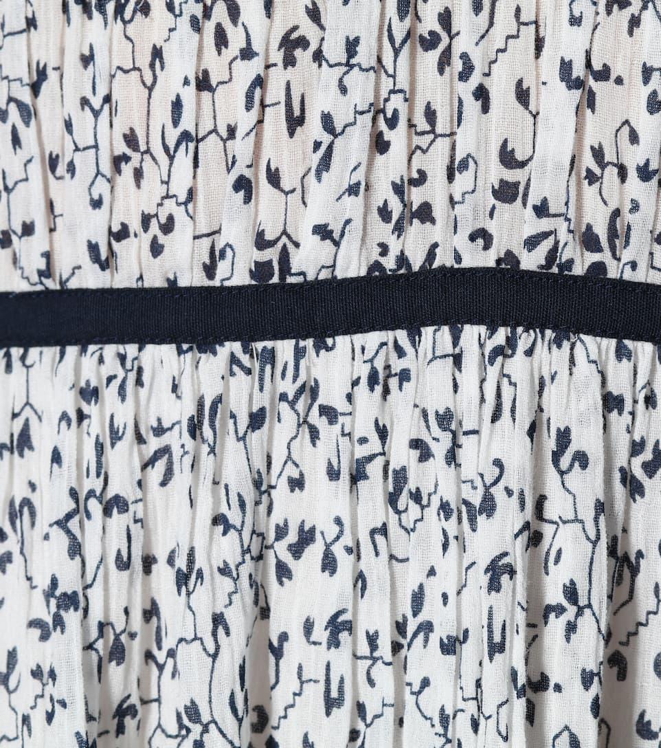 Réel Pas Cher Ulla Johnson - Robe en coton imprimé Malena Populaire Pour La Vente 8sFL9xWy