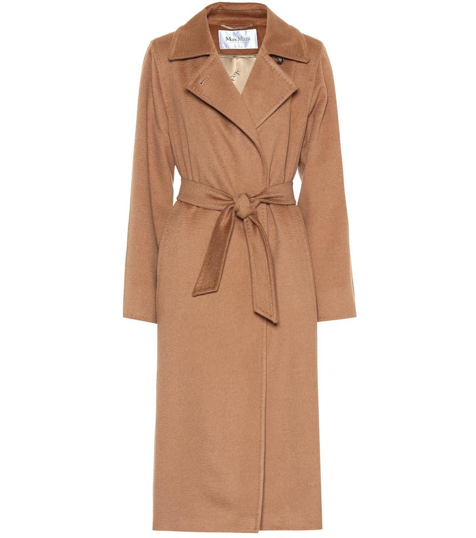 e5c92bbd534 3Manuel Camel Wool Coat - Max Mara
