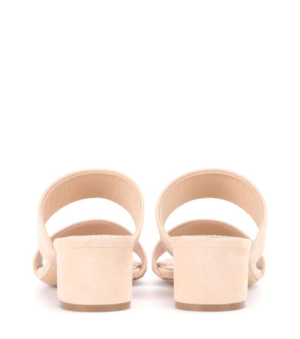 Double Strap Suede Sandals Réduction Manchester Grande Vente MKo3E