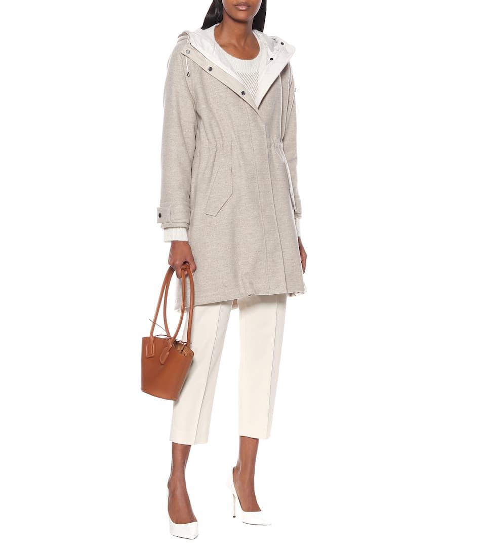 Brunello Cucinelli - Wool and cashmere coat