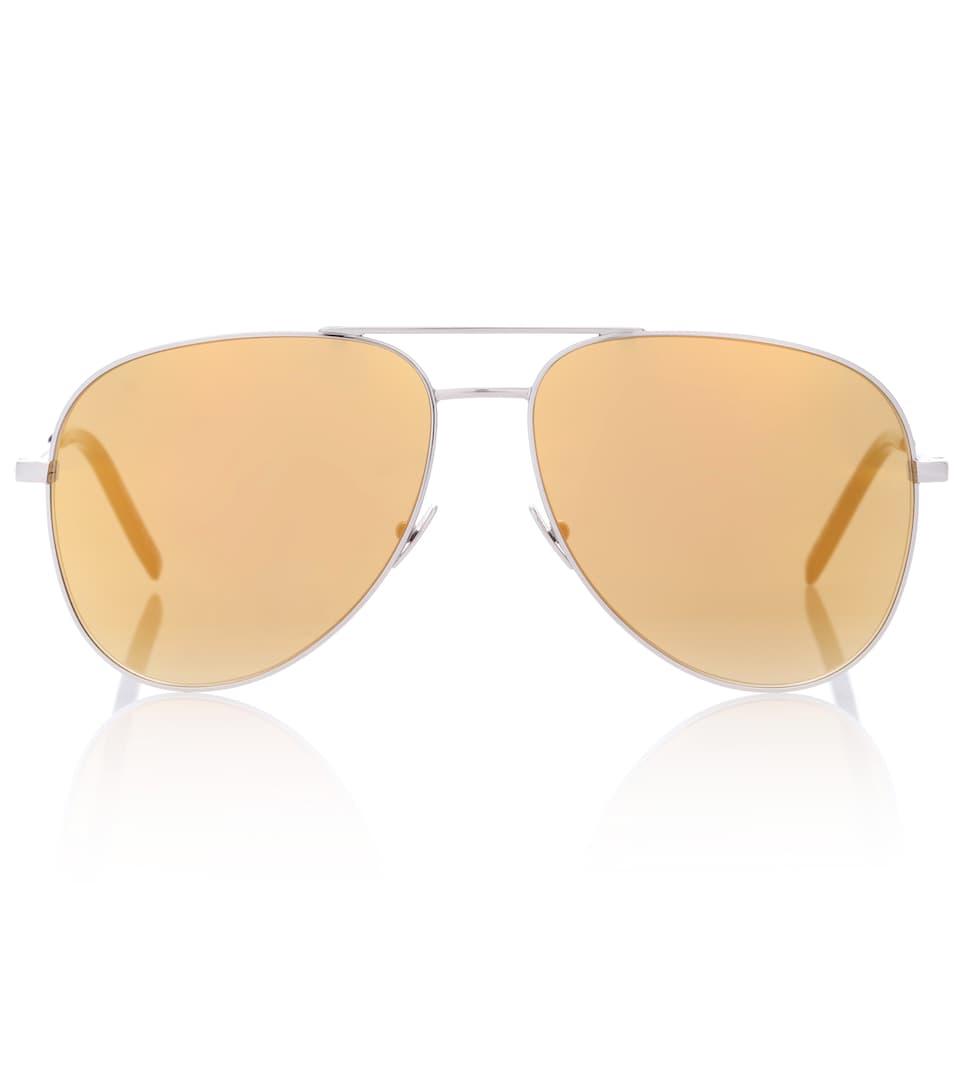 Saint Laurent Verspiegelte Aviator-Sonnenbrille Classic 11