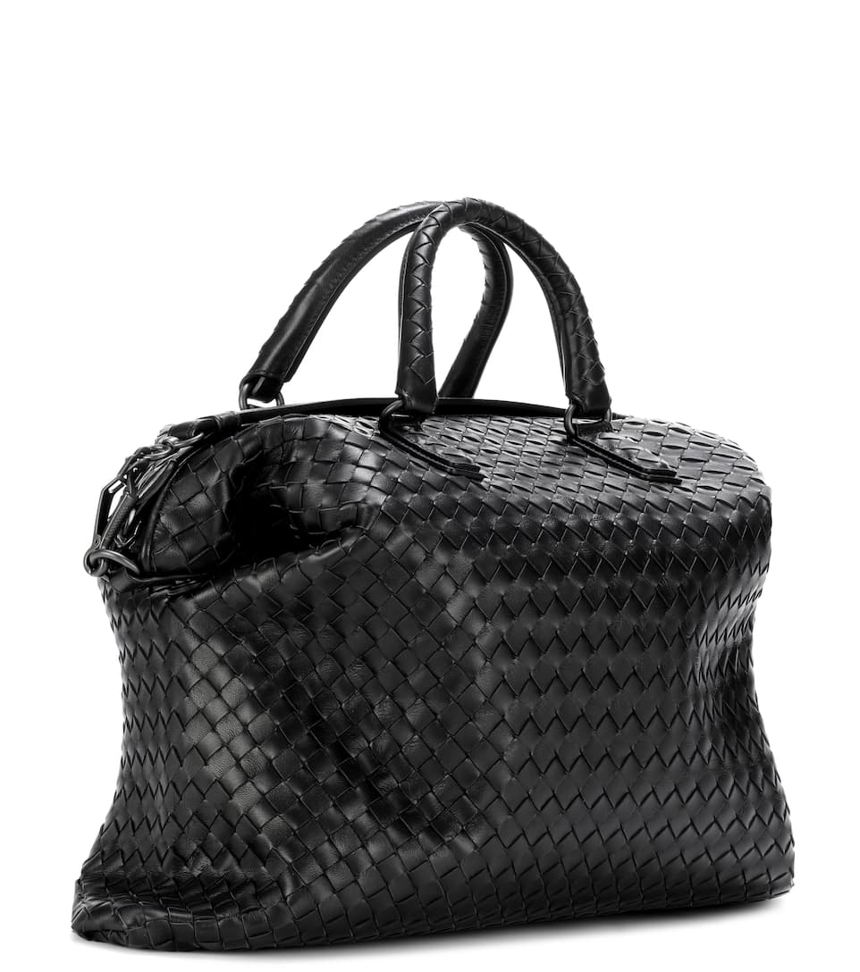 Bottega Veneta Intrecciato-Ledertasche The Convertible