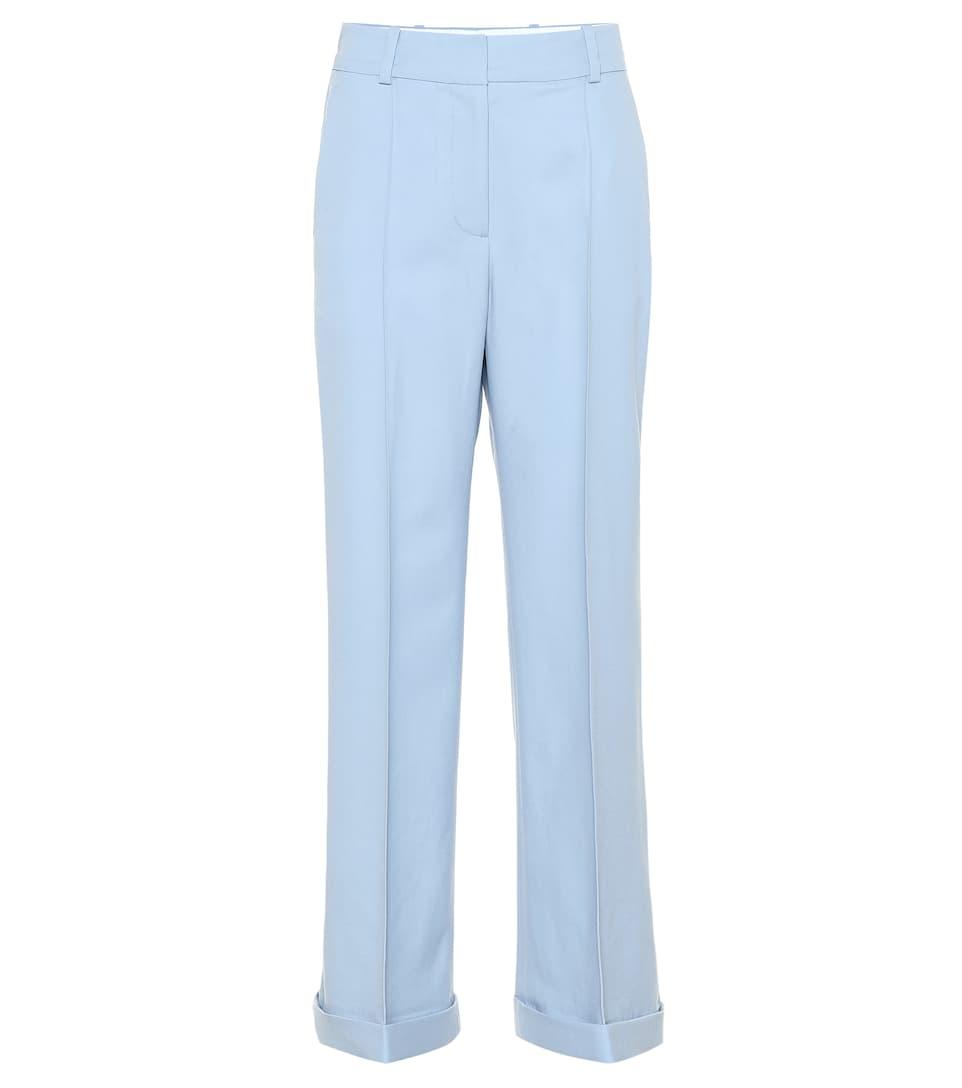 2bae108005 Racil - Charlie wool crêpe wide-leg pants | Mytheresa