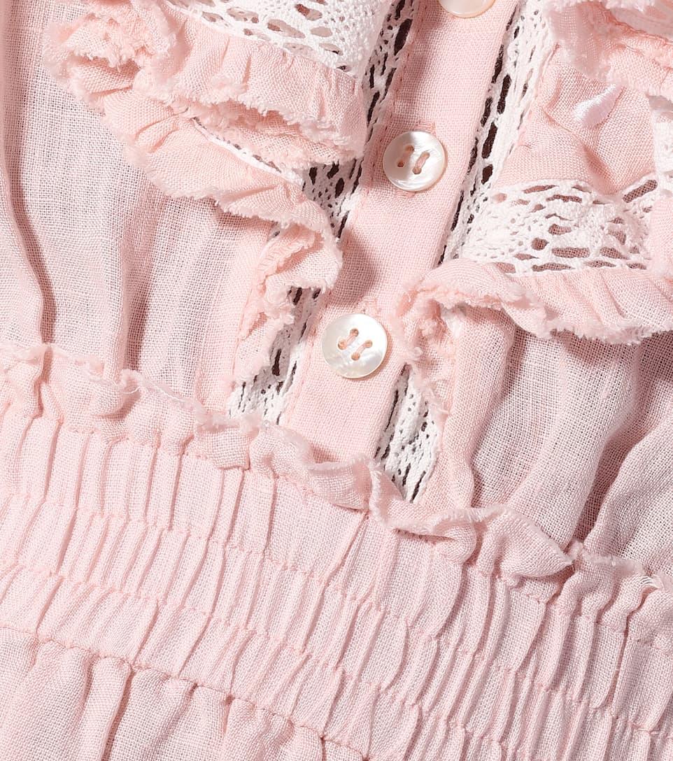 LoveShackFancy - Deacon linen dress