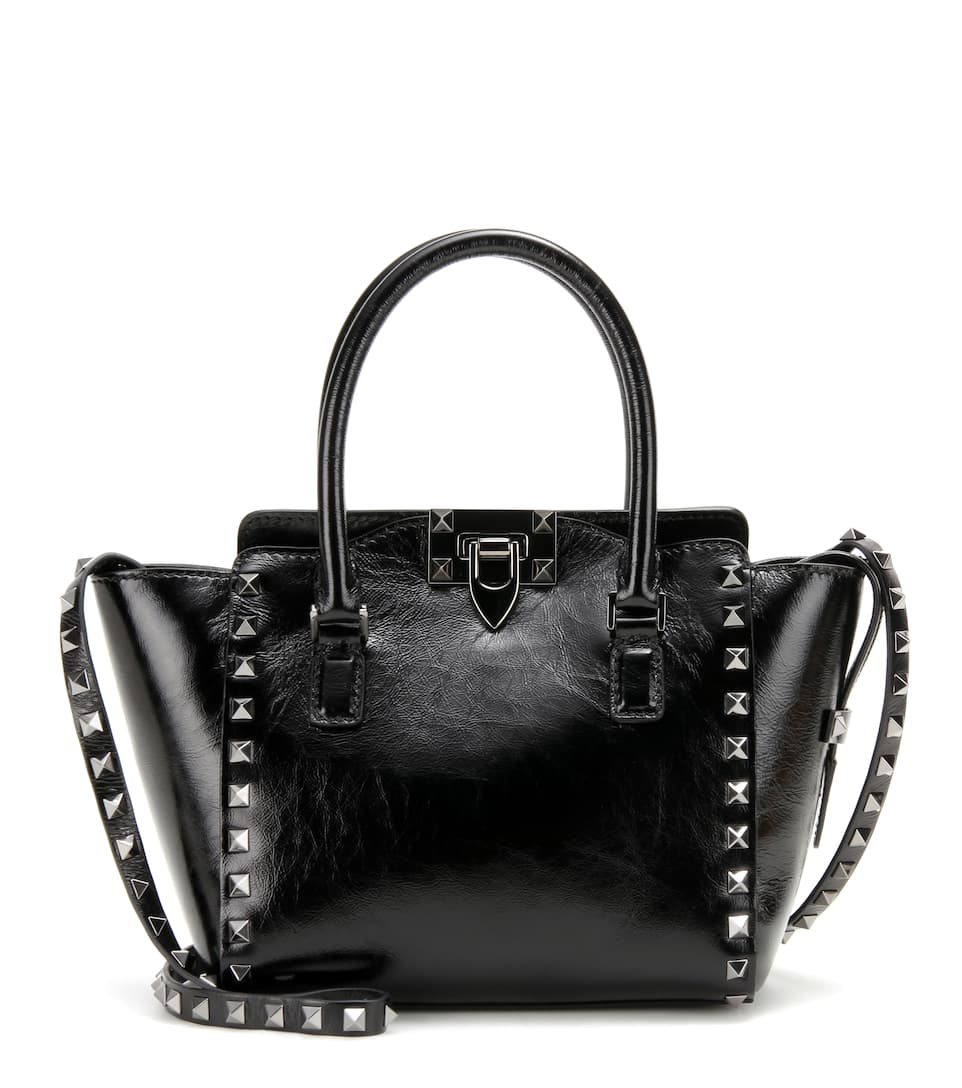 Valentino Rockstud Mini leather shoulder bag