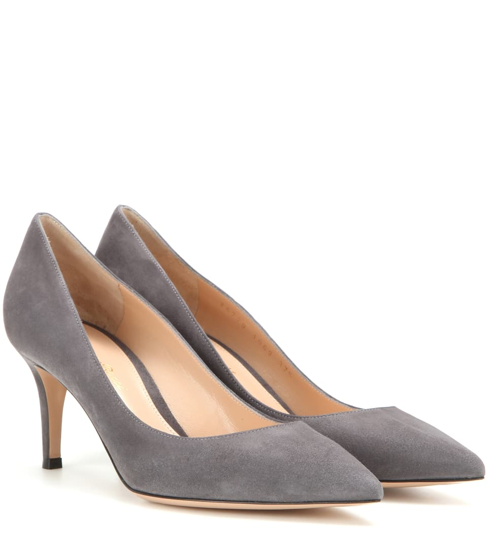 Exclusive to mytheresa.com - Gianvito 70 suede pumps Gianvito Rossi