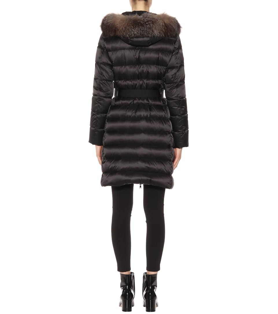 181b9c675 Tinuviel Down Coat With Fur - Moncler | mytheresa