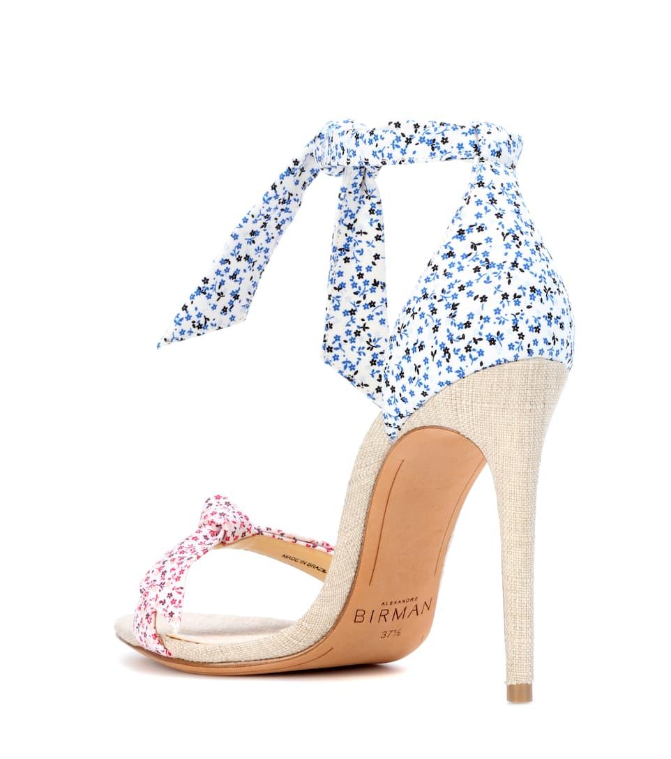 ALEXANDRE BIRMAN Lovely Clarita floral-printed sandals Clearance dxc9jjFXdc