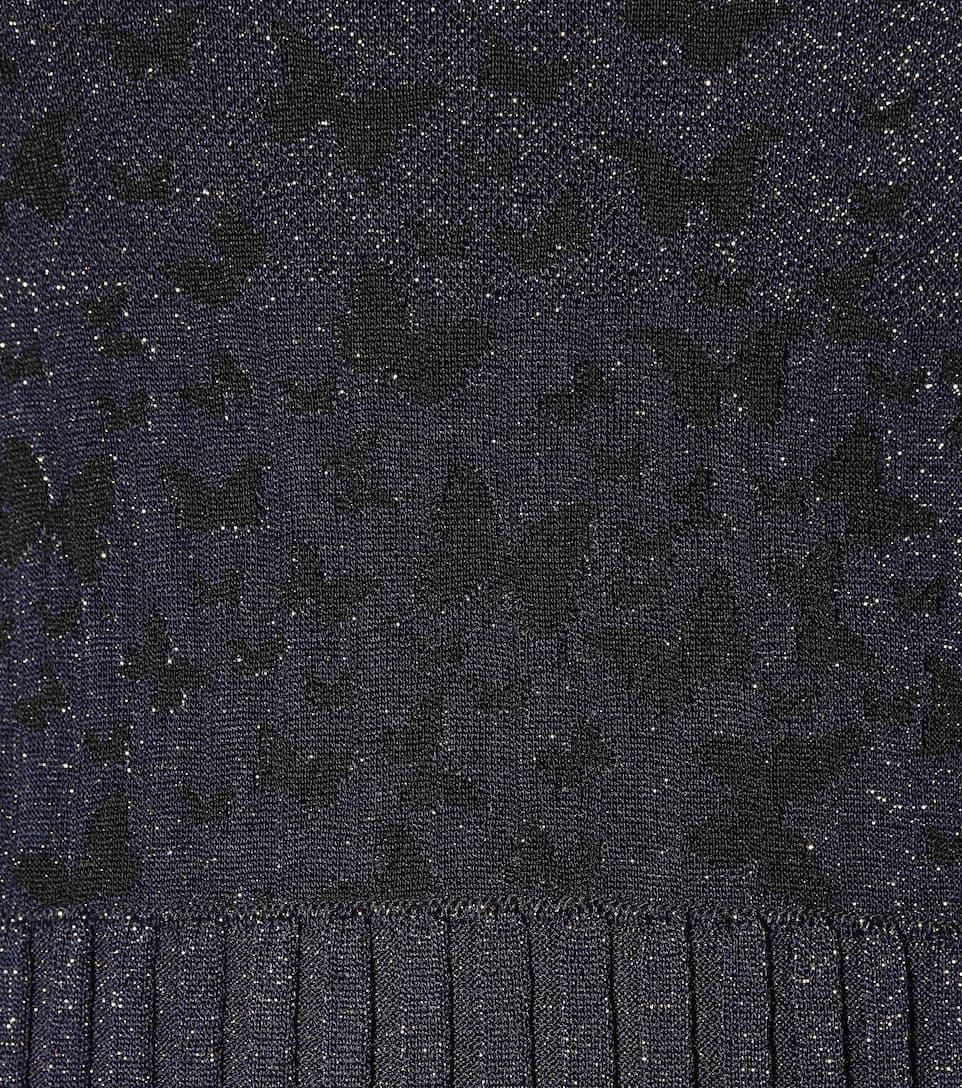 Bottega Veneta Metallic-Kleid