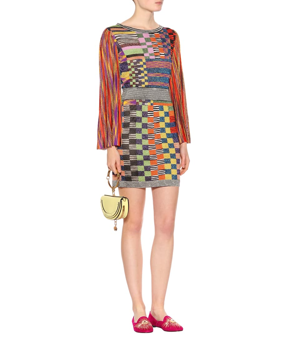 Missoni Patterned Dress With Metallic Threads