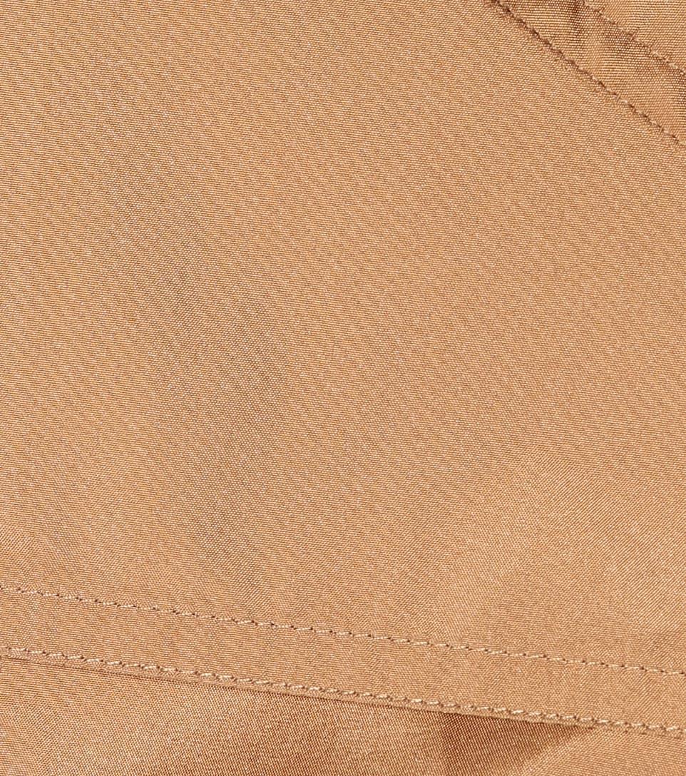 Bottega Veneta Mantel aus einem Seidengemisch