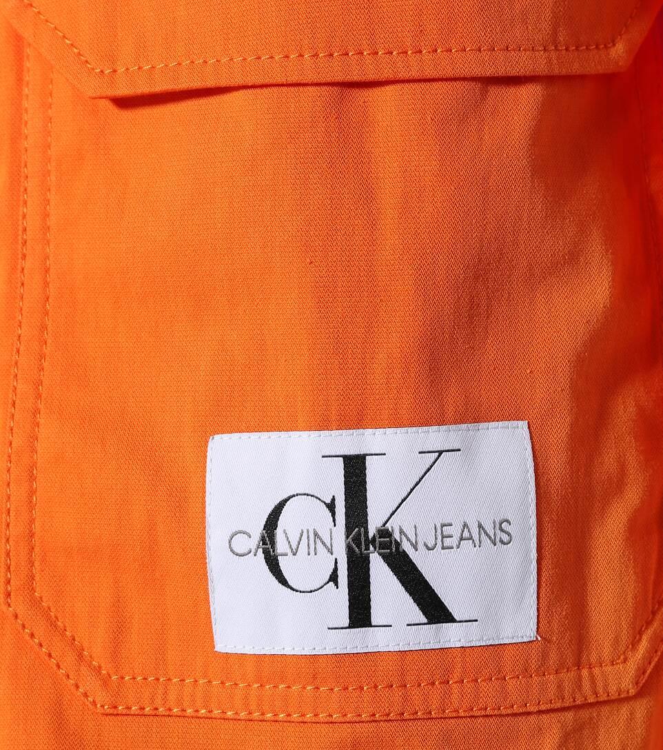Gefütterte Parka aus Baumwoll Twill Calvin Klein® | J20J207787