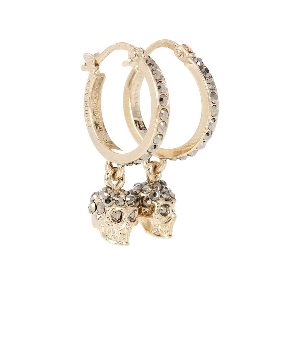 Alexander McQueen - Boucles d'oreilles à cristaux