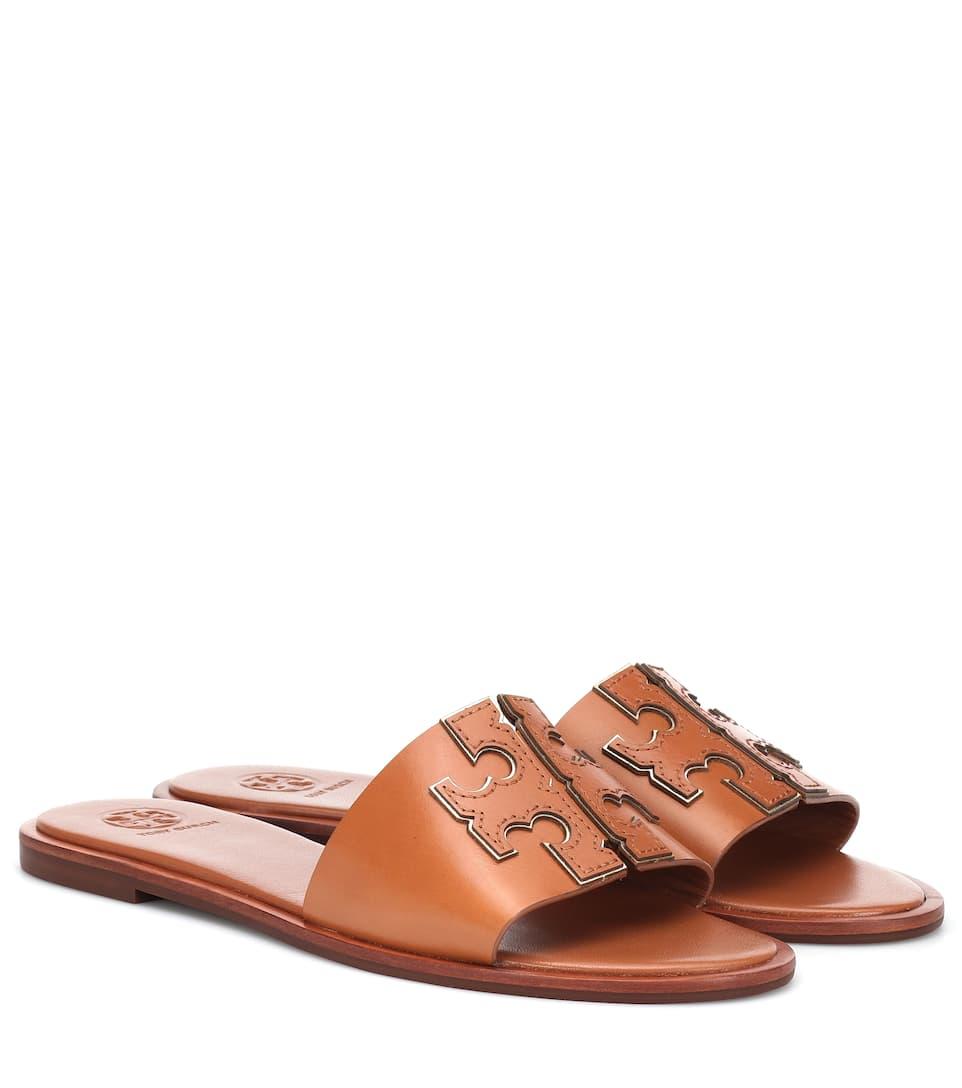 3e8873ab4684 Ines Leather Slides