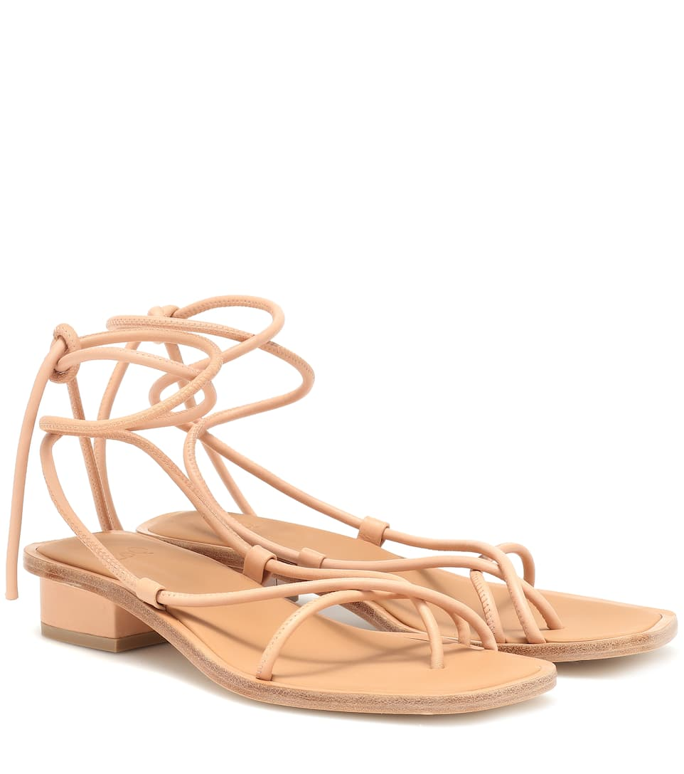Ara Leather Sandals by Loq