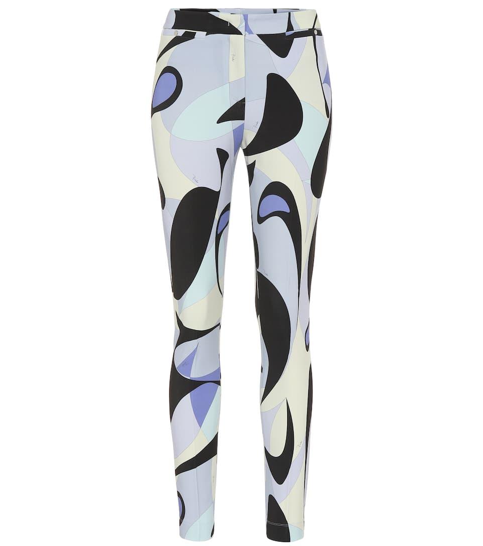 size 40 7ee0d 330e0 Pantaloni skinny a stampa