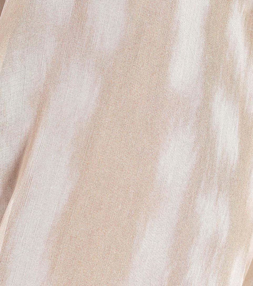 Burberry - Camicia Amelie a stampa in chiffon di seta