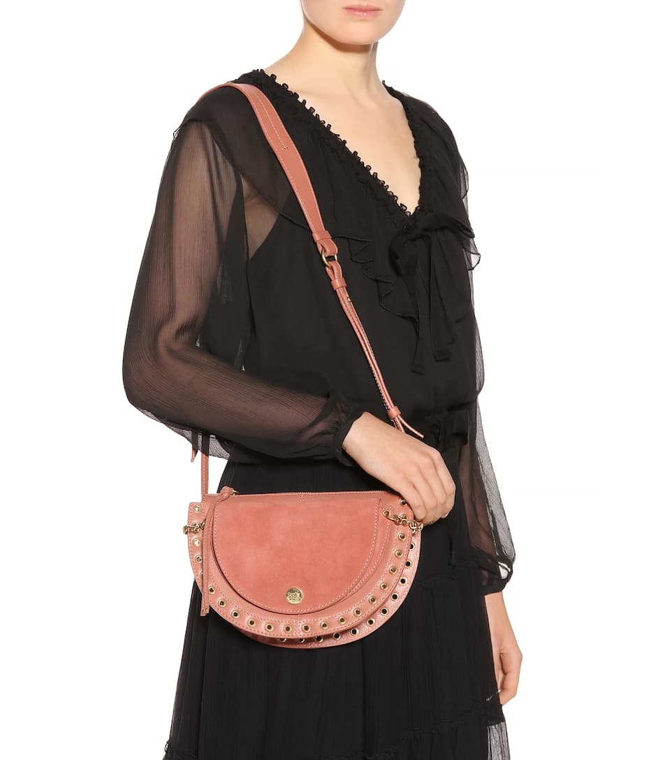 See By Chloé Shoulder Bag Kriss Small Of Leather And Suede
